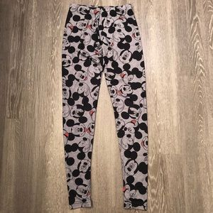 Mickey Mouse Disney Leggings Size X-Small